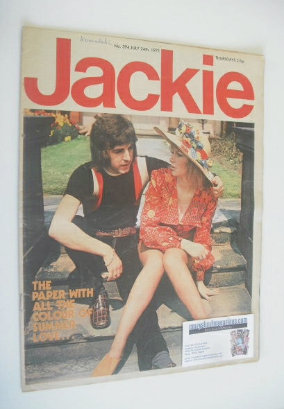 <!--1971-07-24-->Jackie magazine - 24 July 1971 (Issue 394)