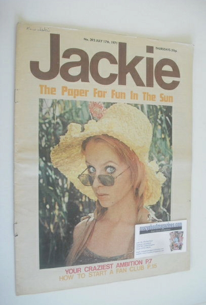 <!--1971-07-17-->Jackie magazine - 17 July 1971 (Issue 393)