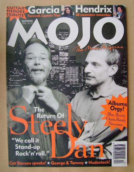 <!--1995-10-->MOJO magazine - Steely Dan cover (October 1995 - Issue 23)