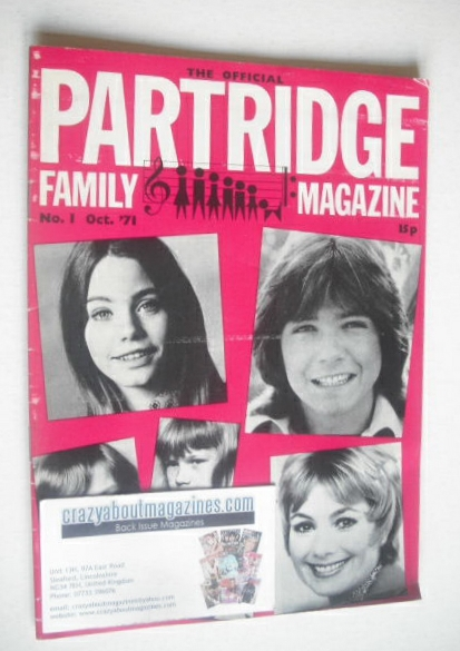 <!--1971-10-->The Official Partridge Family Magazine (October 1971 - No 1)