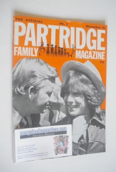 The Official Partridge Family Magazine (November 1971 - No 2)