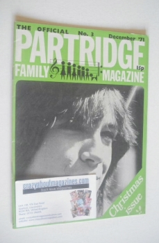 The Official Partridge Family Magazine (December 1971 - No 3)