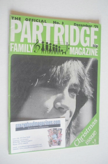 <!--1971-12-->The Official Partridge Family Magazine (December 1971 - No 3)