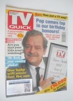 <!--1992-03-21-->TV Quick magazine - David Jason cover (21-27 March 1992)