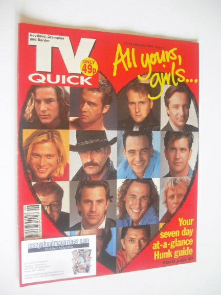 <!--1994-02-12-->TV Quick magazine - All Yours, Girls cover (12-18 February