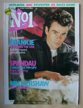 No 1 Magazine - Nik Kershaw cover (24 November 1984)