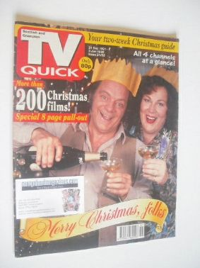 <!--1991-12-21-->TV Quick magazine - David Jason and Pam Ferris cover (21 D