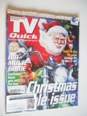 <!--2000-12-23-->TV Quick magazine - Christmas & New Year cover (23 Decembe