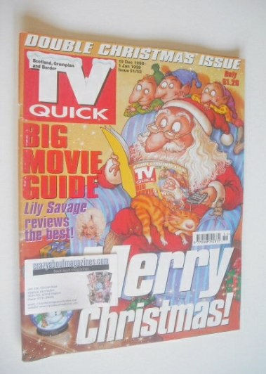 <!--1998-12-19-->TV Quick magazine - Christmas & New Year cover (19 Decembe