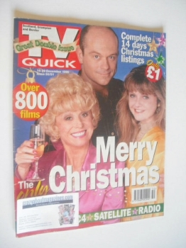 TV Quick magazine - EastEnders cover (16-29 December 1995)