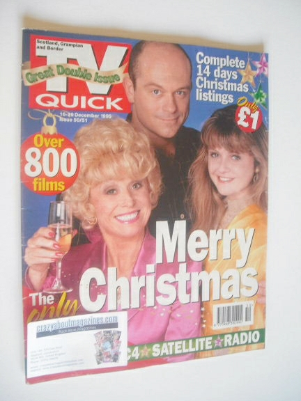<!--1995-12-16-->TV Quick magazine - EastEnders cover (16-29 December 1995)