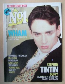 No 1 Magazine - Stephen Tintin Duffy cover (16 March 1985)