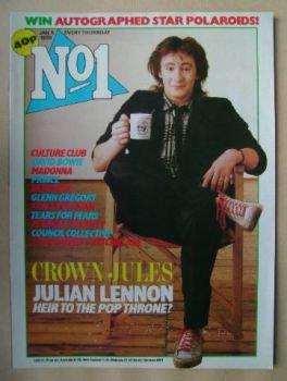 No 1 Magazine - Julian Lennon cover (5 January 1985)