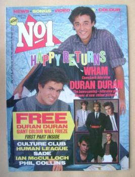 No 1 magazine - Wham! cover (12 May 1984)
