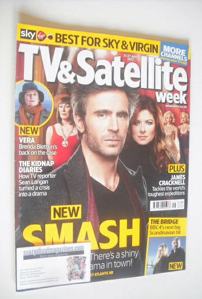 <!--2012-04-21-->TV&Satellite Week magazine - Smash cover (21-27 April 2012