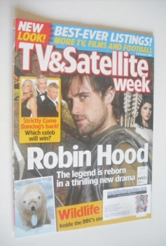 TV & Satellite Week magazine - Jonas Armstrong cover (7-13 October 2006)