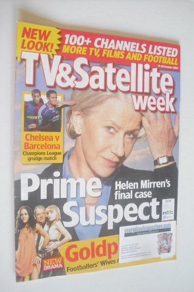 <!--2006-10-14-->TV&Satellite Week magazine - Helen Mirren cover (14-20 Oct