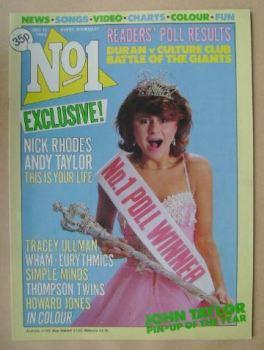 No 1 magazine - Tracey Ullman cover (17 December 1983)