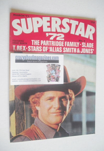 <!--1972-03-->Superstar '72 magazine (March 1972 - No. 6)