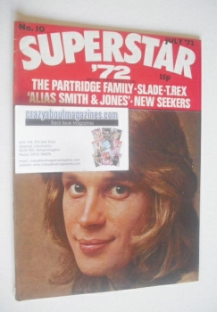 Superstar '72 magazine (July 1972 - No. 10)