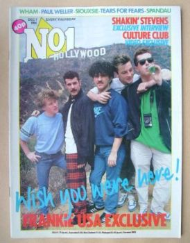 No 1 Magazine - Frankie Goes To Hollywood cover (1 December 1984)