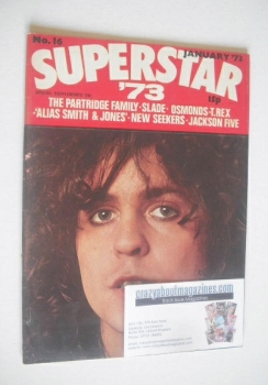 Superstar '73 magazine (January 1973 - No. 16 - Marc Bolan cover)