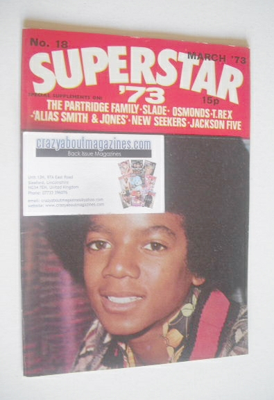 <!--1973-03-->Superstar '73 magazine (March 1973 - No. 18 - Michael Jackson