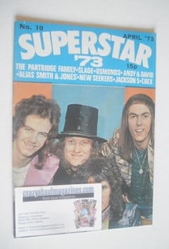 Superstar '73 magazine (April 1973 - No. 19 - Slade cover)