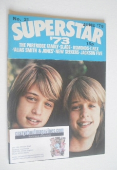 Superstar '73 magazine (June 1973 - No. 21 - Andy and David Williams cover)
