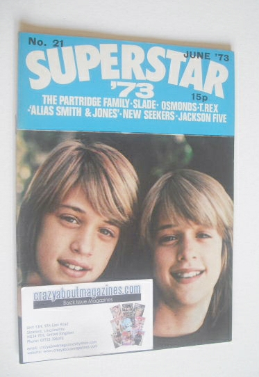 <!--1973-06-->Superstar '73 magazine (June 1973 - No. 21 - Andy and David W