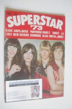 Superstar '73 magazine (July 1973 - No. 22 - Sweet cover)