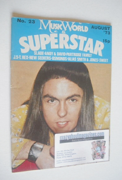 <!--1973-08-->Music World & Superstar magazine (August 1973 - No. 23 - Dave