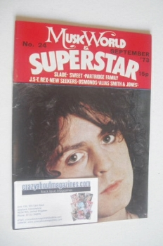 Music World & Superstar magazine (September 1973 - No. 24 - Marc Bolan cover)
