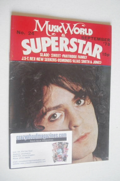 <!--1973-09-->Music World & Superstar magazine (September 1973 - No. 24 - M