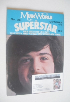 Music World & Superstar magazine (October 1973 - No. 25 - Donny Osmond cover)
