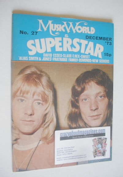 <!--1973-12-->Music World & Superstar magazine (December 1973 - No. 27 - Sw