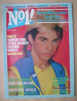 No 1 magazine - Limahl cover (16 July 1983)