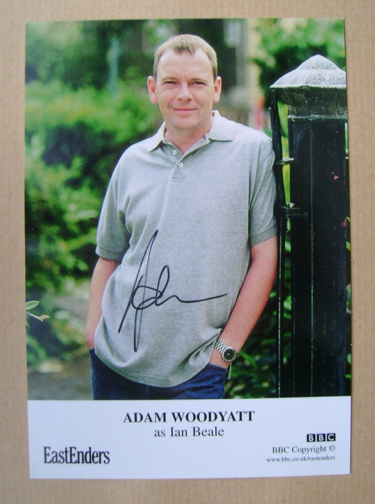 Adam Woodyatt autograph (EastEnders actor)