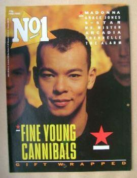 No 1 Magazine - Roland Gift cover (1 February 1986)