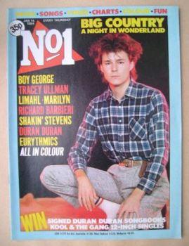 No 1 Magazine - Stuart Adamson cover (14 January 1984)