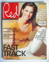 <!--2000-06-->Red magazine - June 2000 - Christy Turlington cover