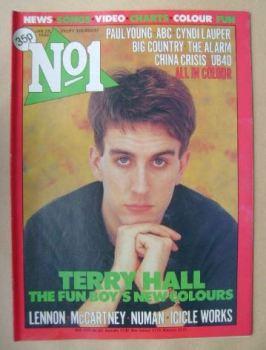 No 1 Magazine - Terry Hall cover (28 January 1984)