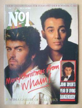 No 1 Magazine - Wham! cover (21-28 December 1985)