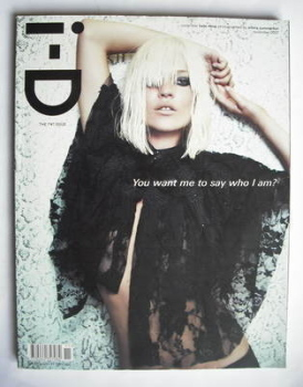 i-D magazine - Kate Moss cover (November 2007)
