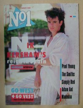 No 1 Magazine - Nik Kershaw cover (3 August 1985)