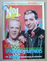 <!--1985-04-20-->No 1 Magazine - Jimmy Somerville and Marc Almond cover (20 April 1985)