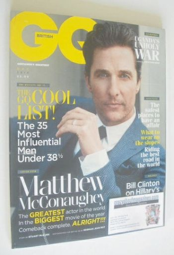 <!--2014-12-->British GQ magazine - December 2014 - Matthew McConaughey cov