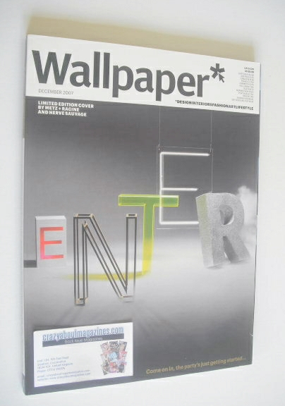<!--2007-12-->Wallpaper magazine (Issue 105 - December 2007, Limited Editio