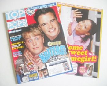 Top Of The Pops magazine - Kian Egan and Shane Filan cover (July 2002)