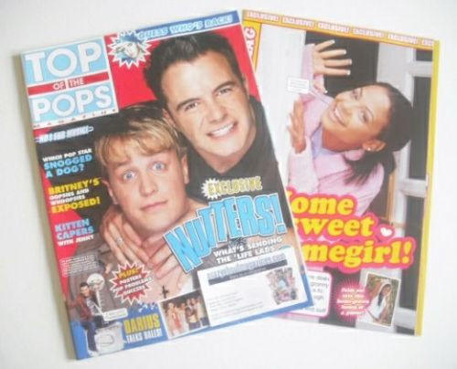 <!--2002-07-->Top Of The Pops magazine - Kian Egan and Shane Filan cover (J
